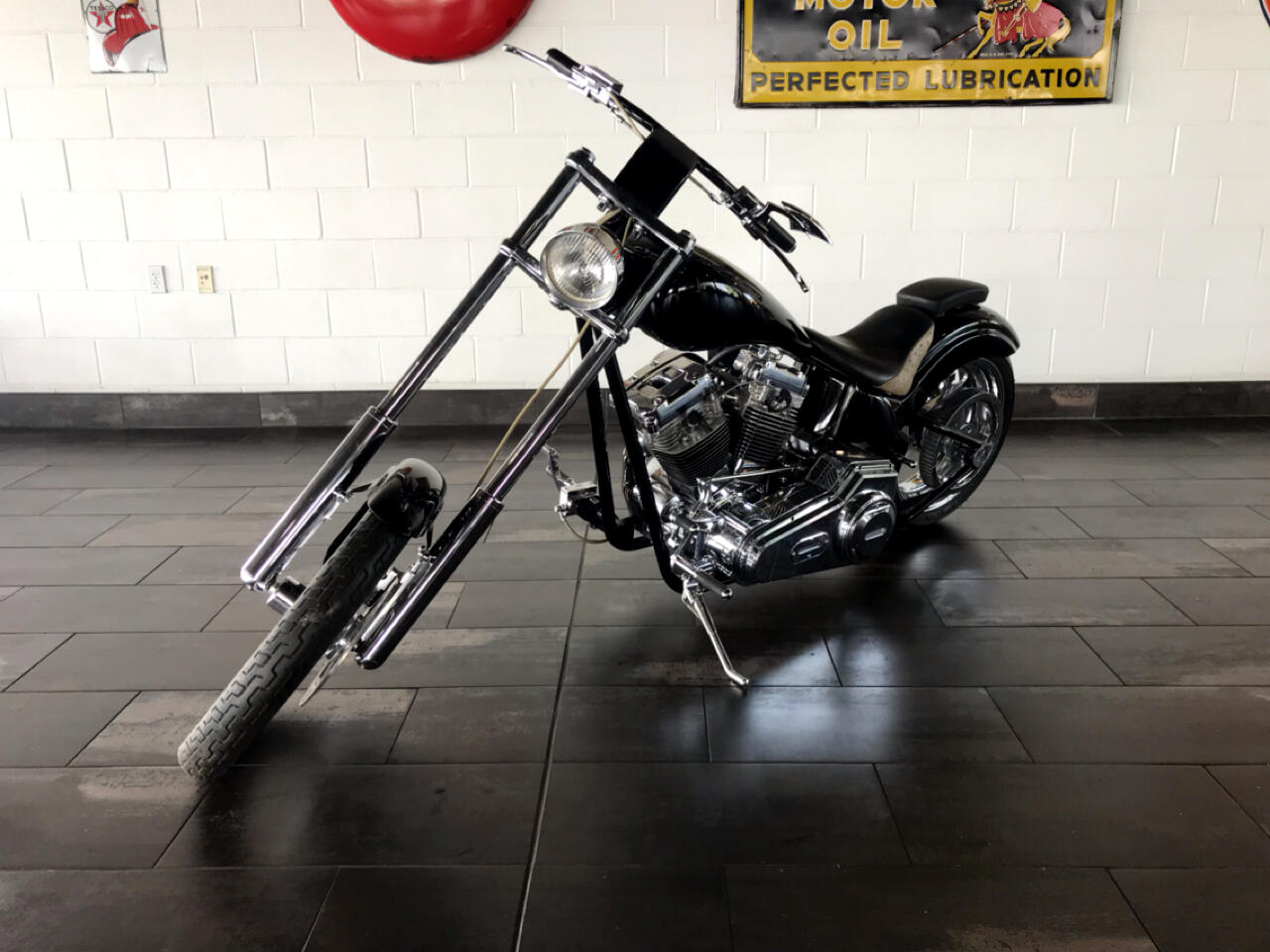 Custom Motorcycle Chopper  2000