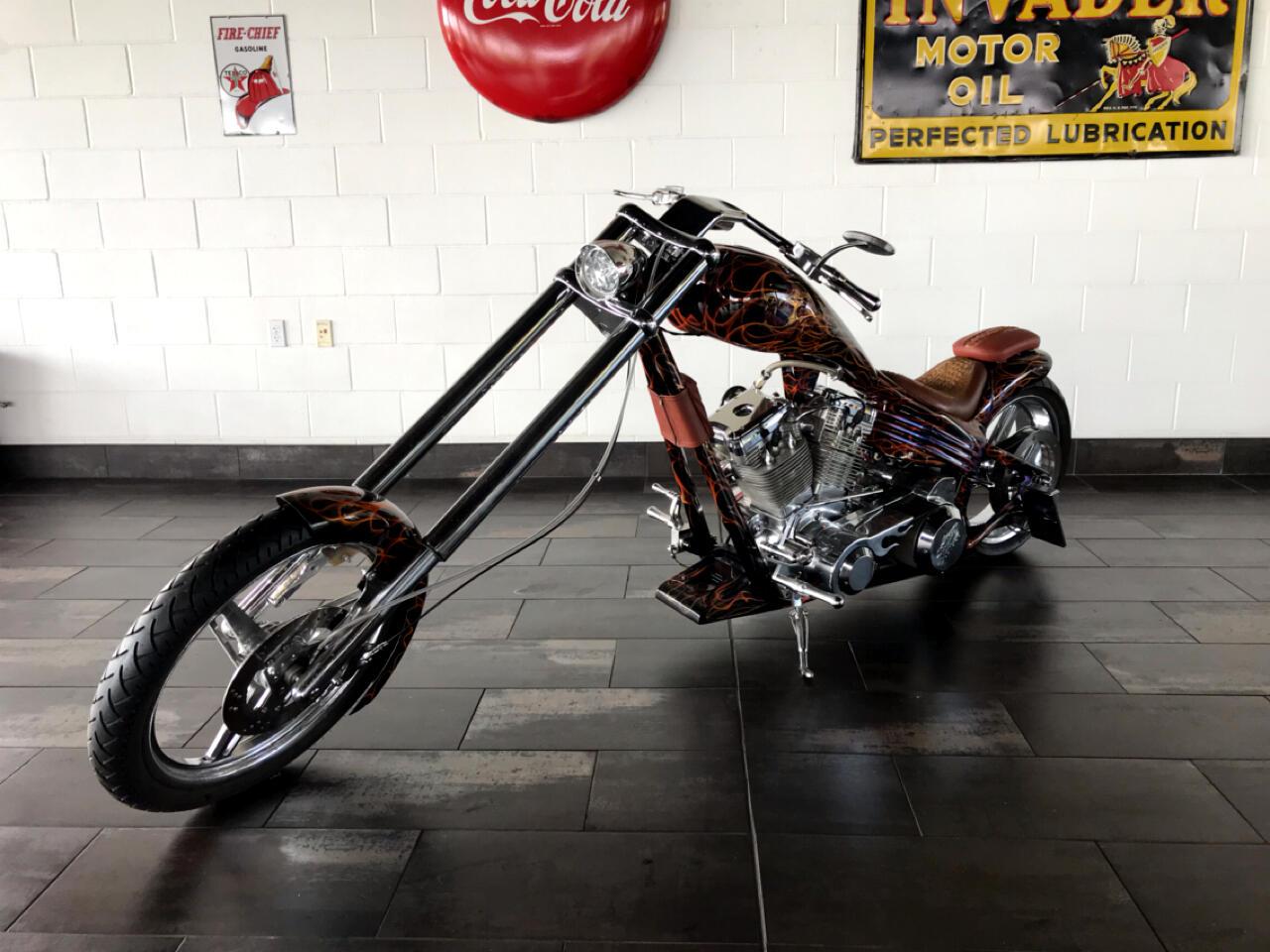 Custom Motorcycle Chopper  2001