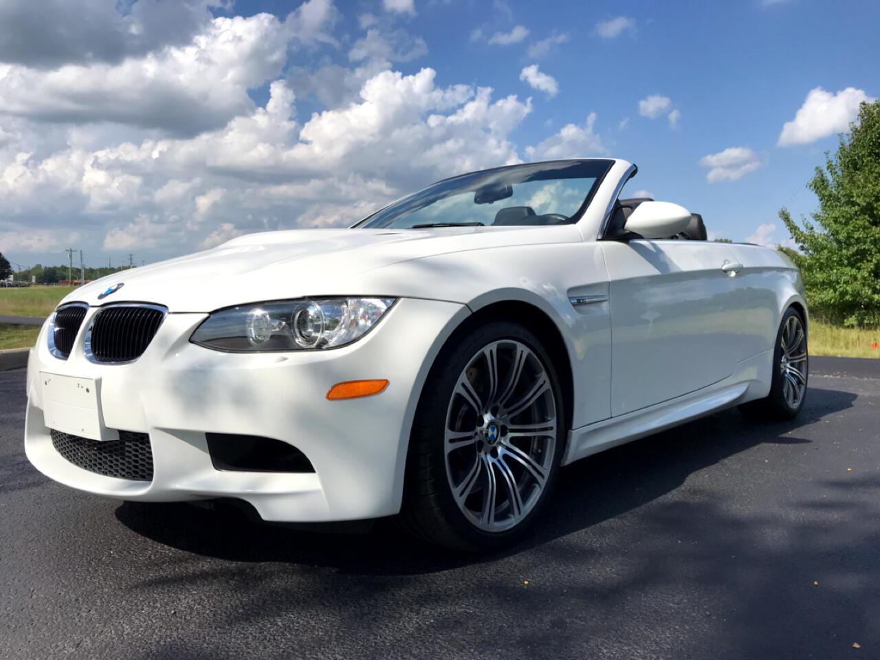BMW M3 Convertible 2013