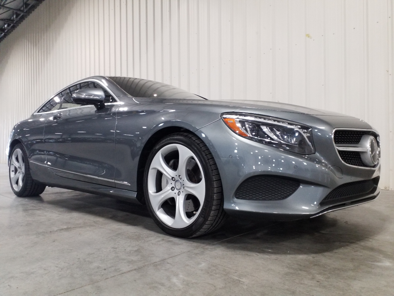 2016 Mercedes-Benz S-Class 2dr Cpe S 550 4MATIC