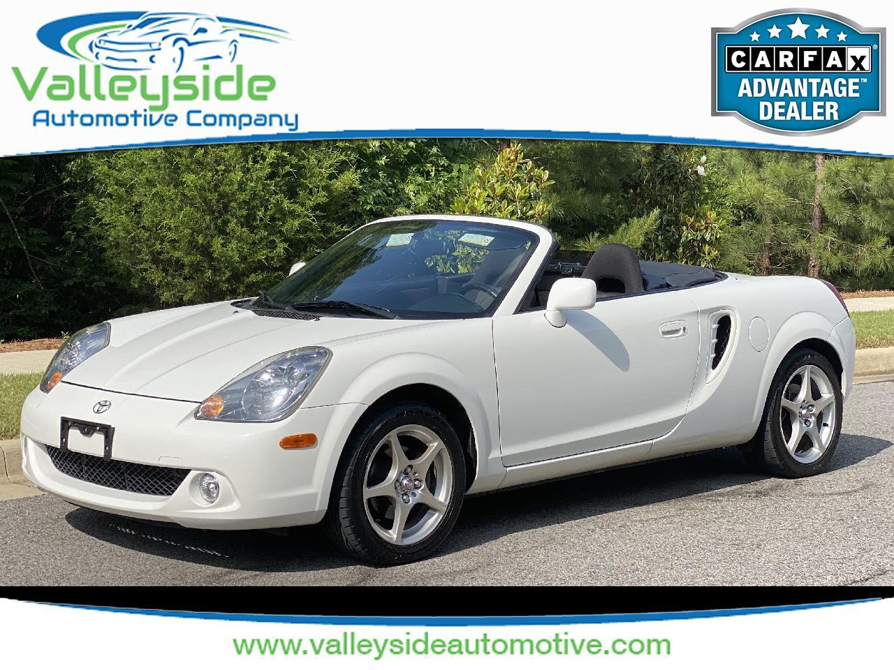 Toyota MR2 Spyder Convertible 2005