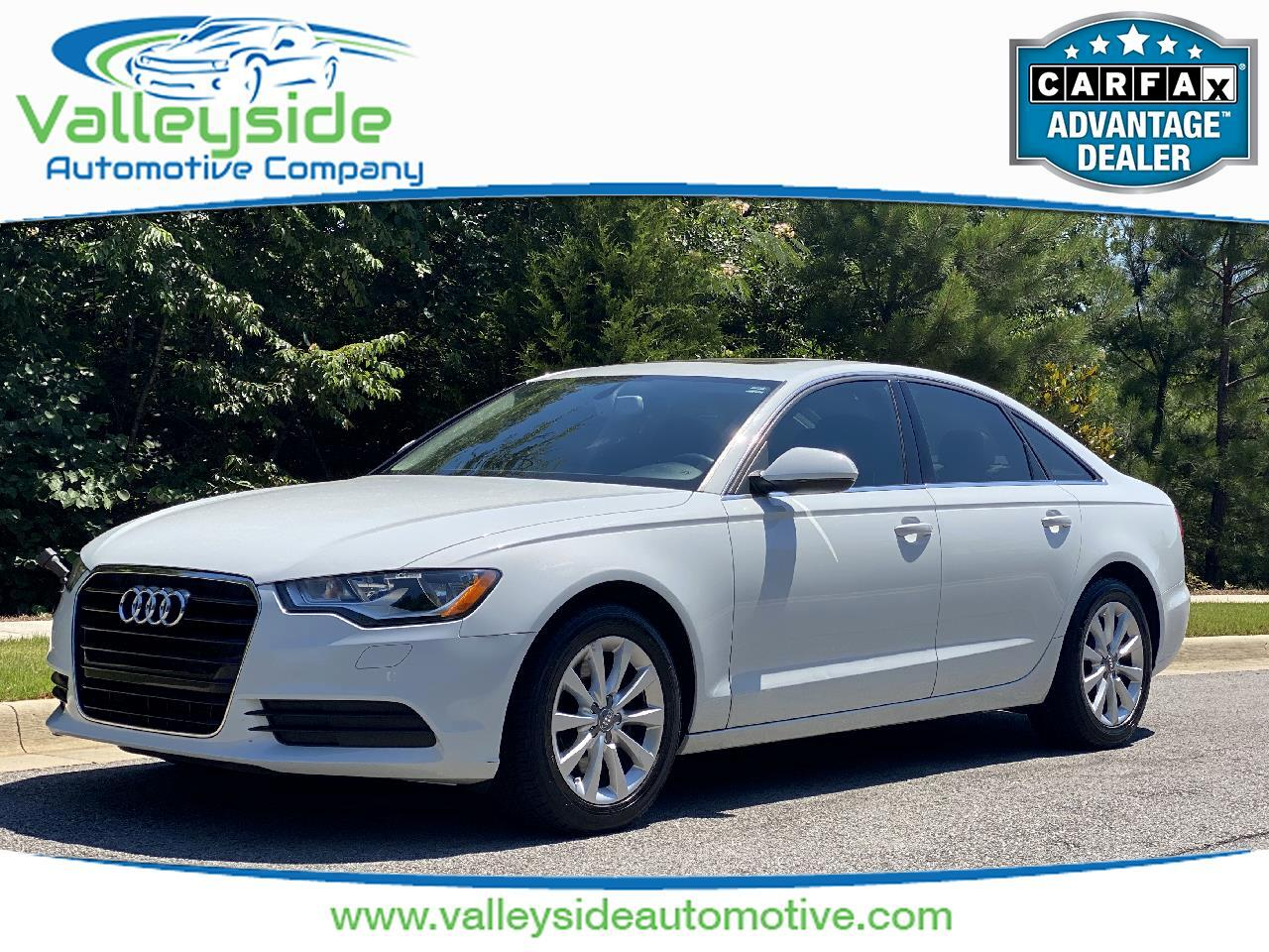 Audi A6 2.0T Premium Sedan FrontTrak Multitronic 2014