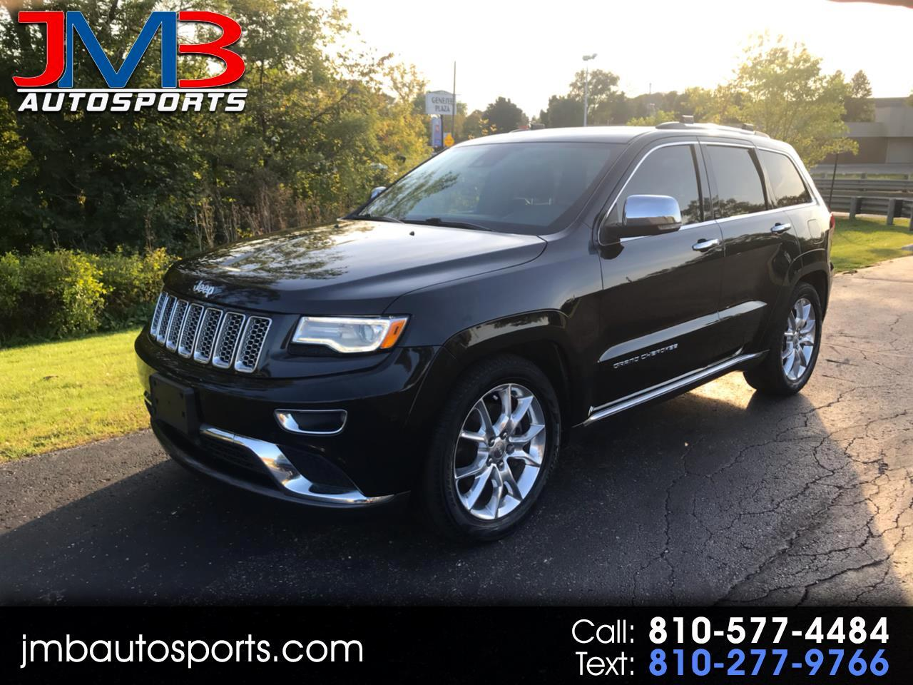 2016 Jeep Grand Cherokee Summit 4WD