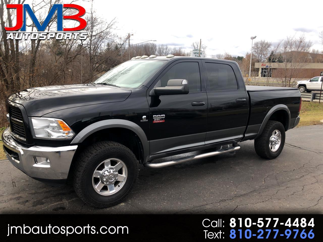 Used Tires Flint Mi >> Used 2012 Ram 2500 4wd Crew Cab 149 Outdoorsman For Sale In
