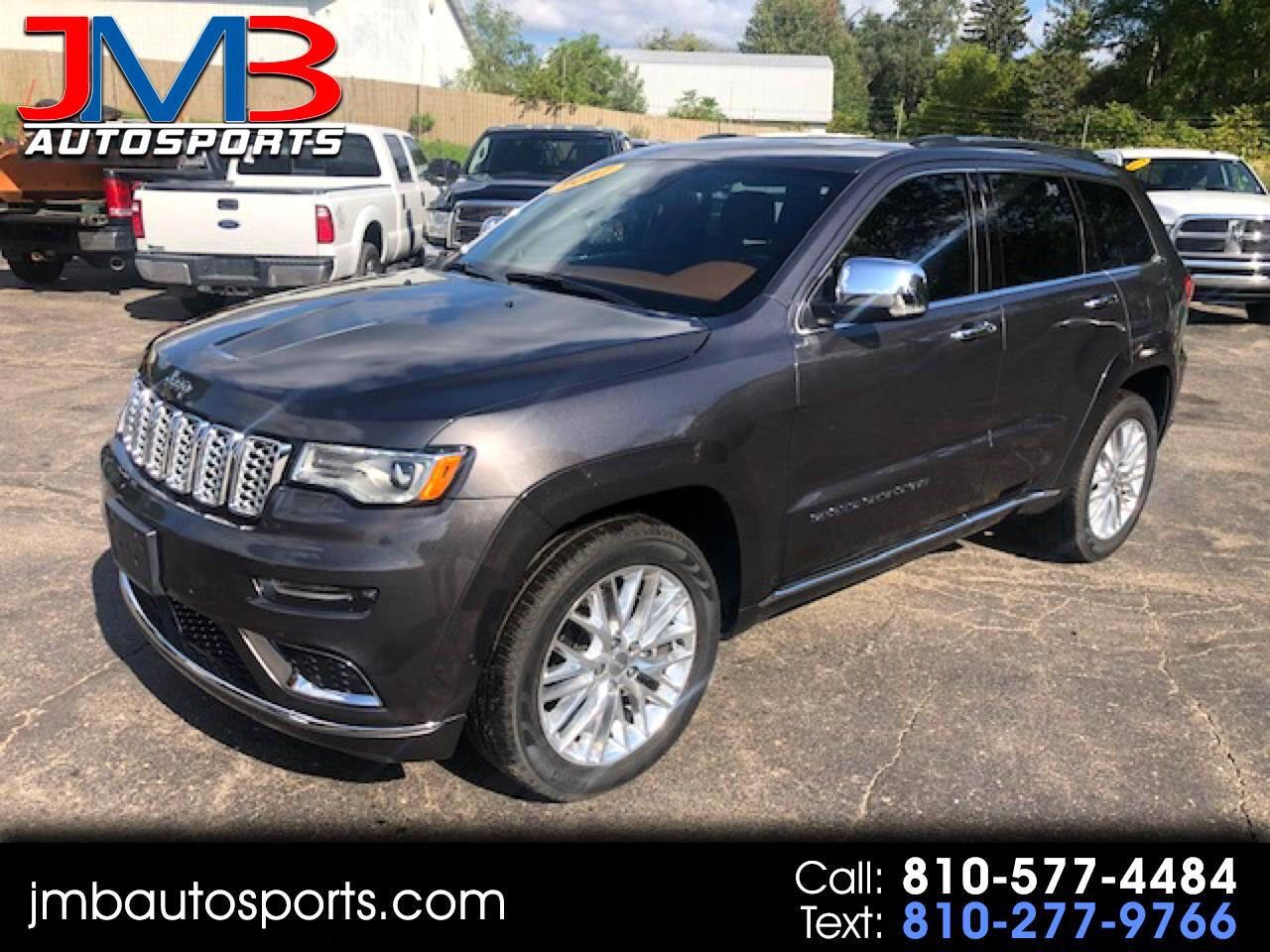 Jeep Grand Cherokee 4WD 4dr Summit 2017