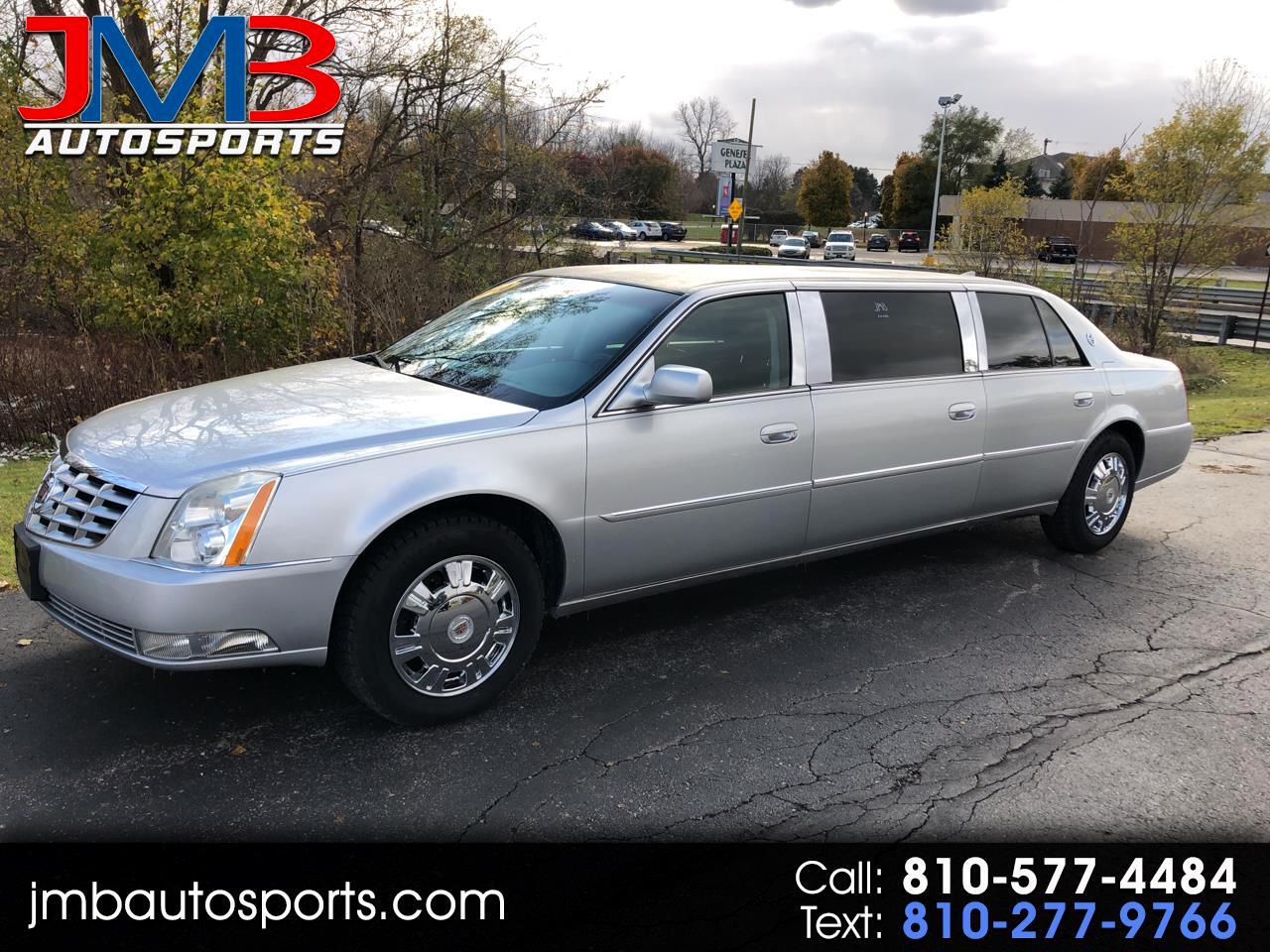 2010 Cadillac DTS Professional 4dr Sdn Limousine