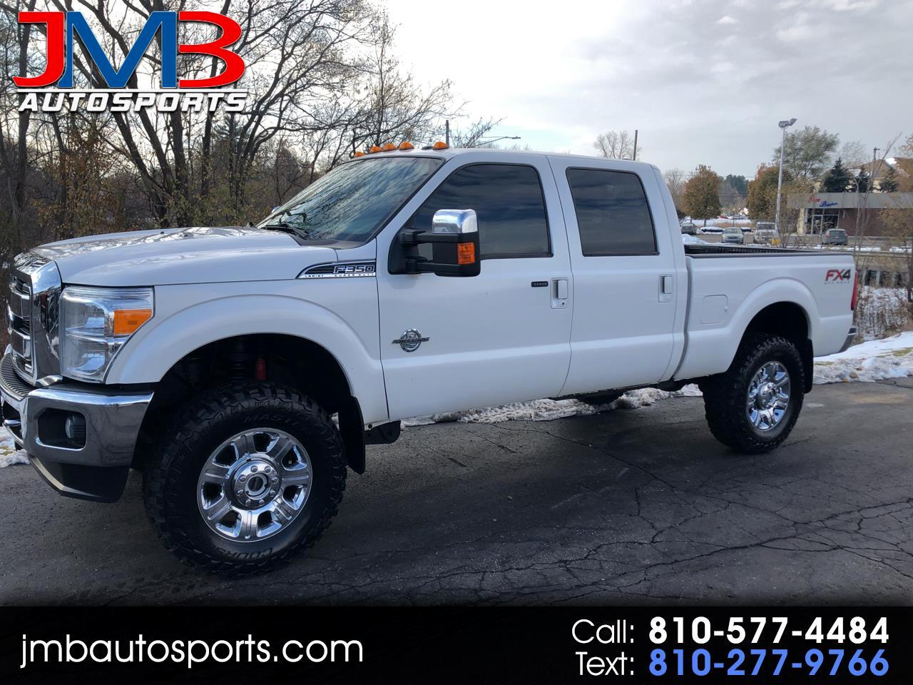 Ford F-350 SD Lariat Crew Cab Short Bed 4WD 2014