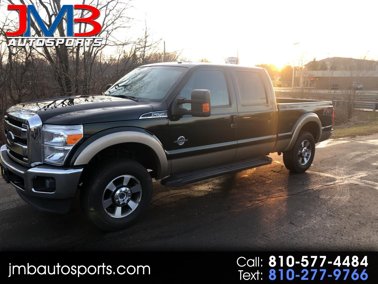 Ford F-250 SD Lariat Crew Cab Short Bed 4WD 2014