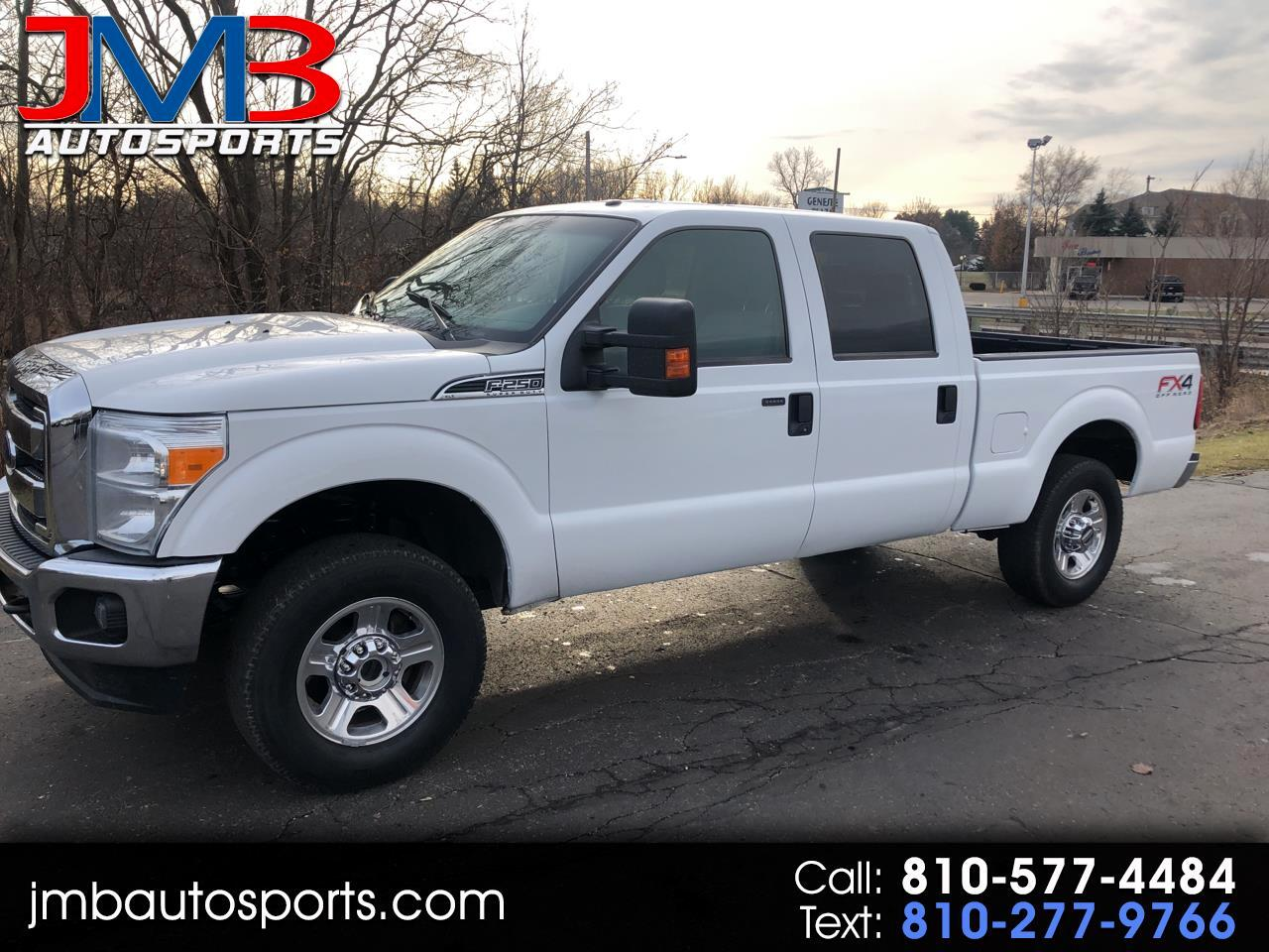 2015 Ford F250 For Sale >> Used 2015 Ford F 250 Sd Xlt Crew Cab Short Bed 4wd For Sale