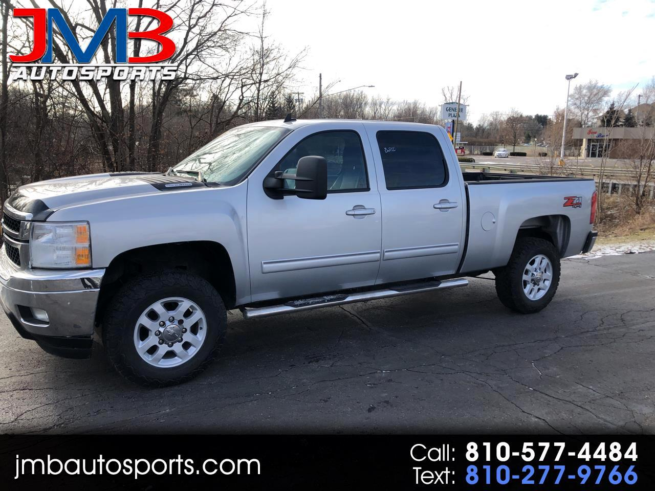 Chevrolet Silverado 2500HD LTZ Crew Cab Short Box 4WD 2012