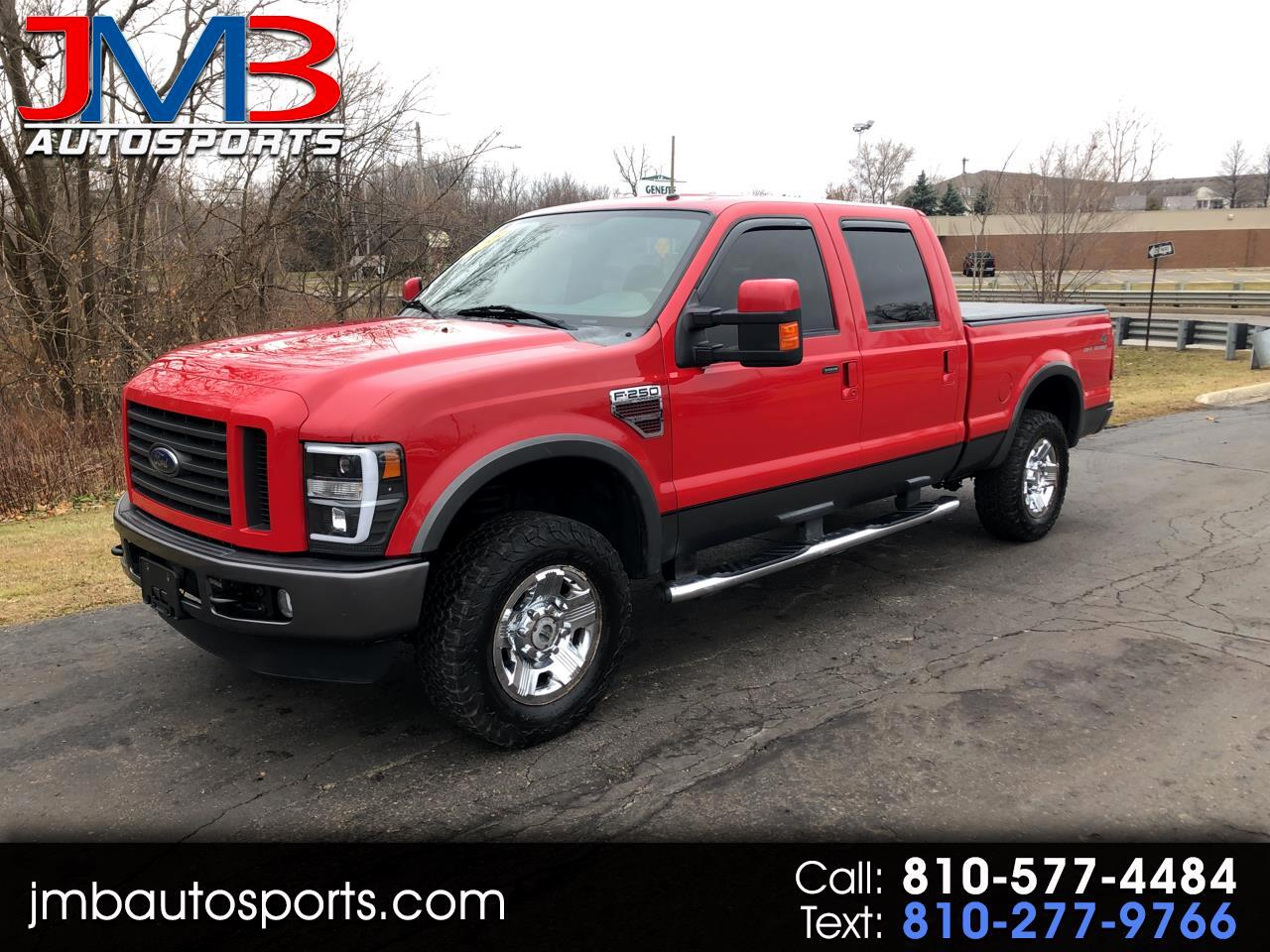 Ford F-250 SD XLT Crew Cab Short Bed 4WD 2008