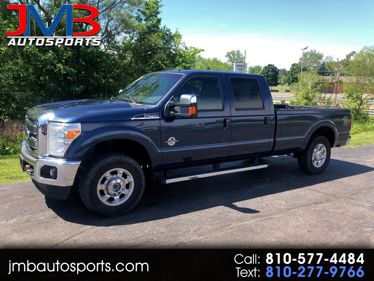 Ford F-250 SD Lariat Crew Cab Long Bed 4WD 2014