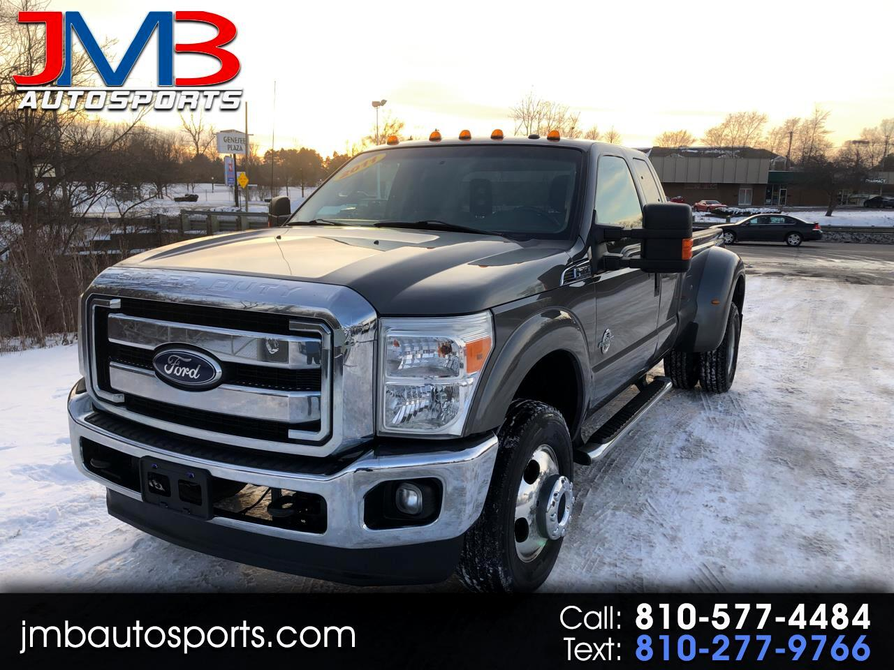 Ford F-350 SD XLT SuperCab Long Bed 4WD DRW 2011