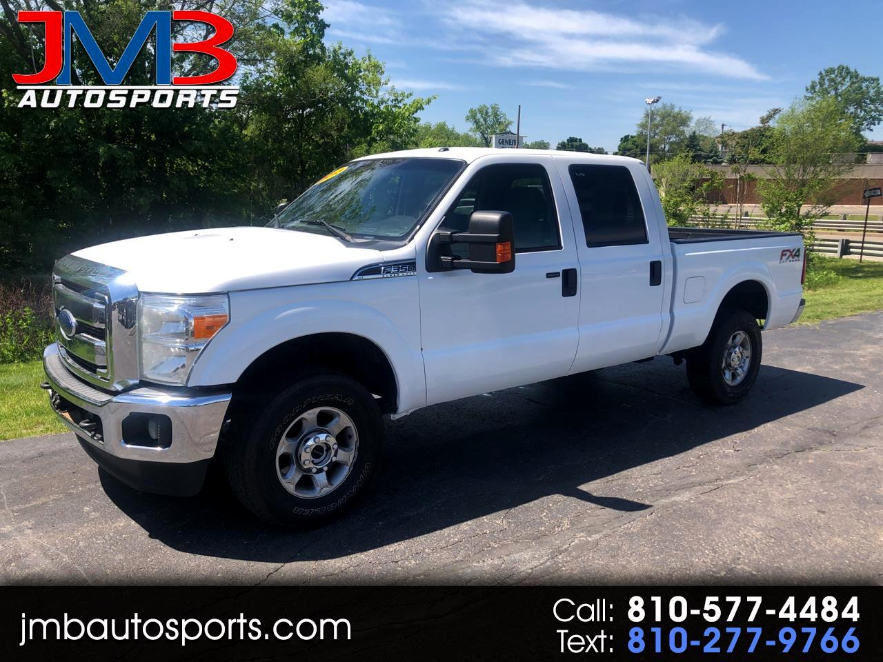 Ford F-350 SD XLT Crew Cab Short Bed 4WD 2013