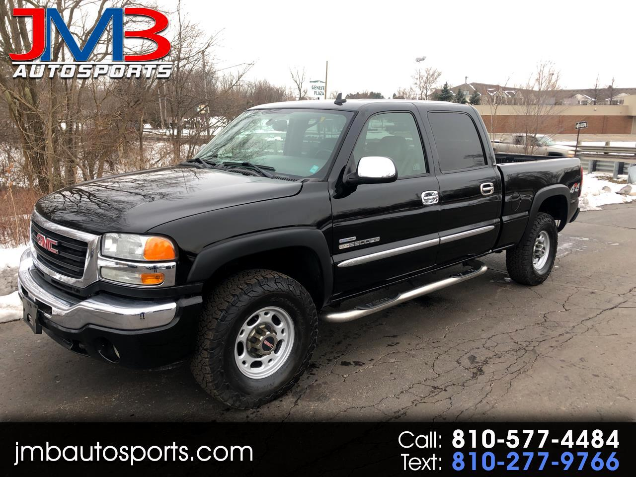 GMC Sierra 2500HD SLT Crew Cab Short Bed 4WD 2006