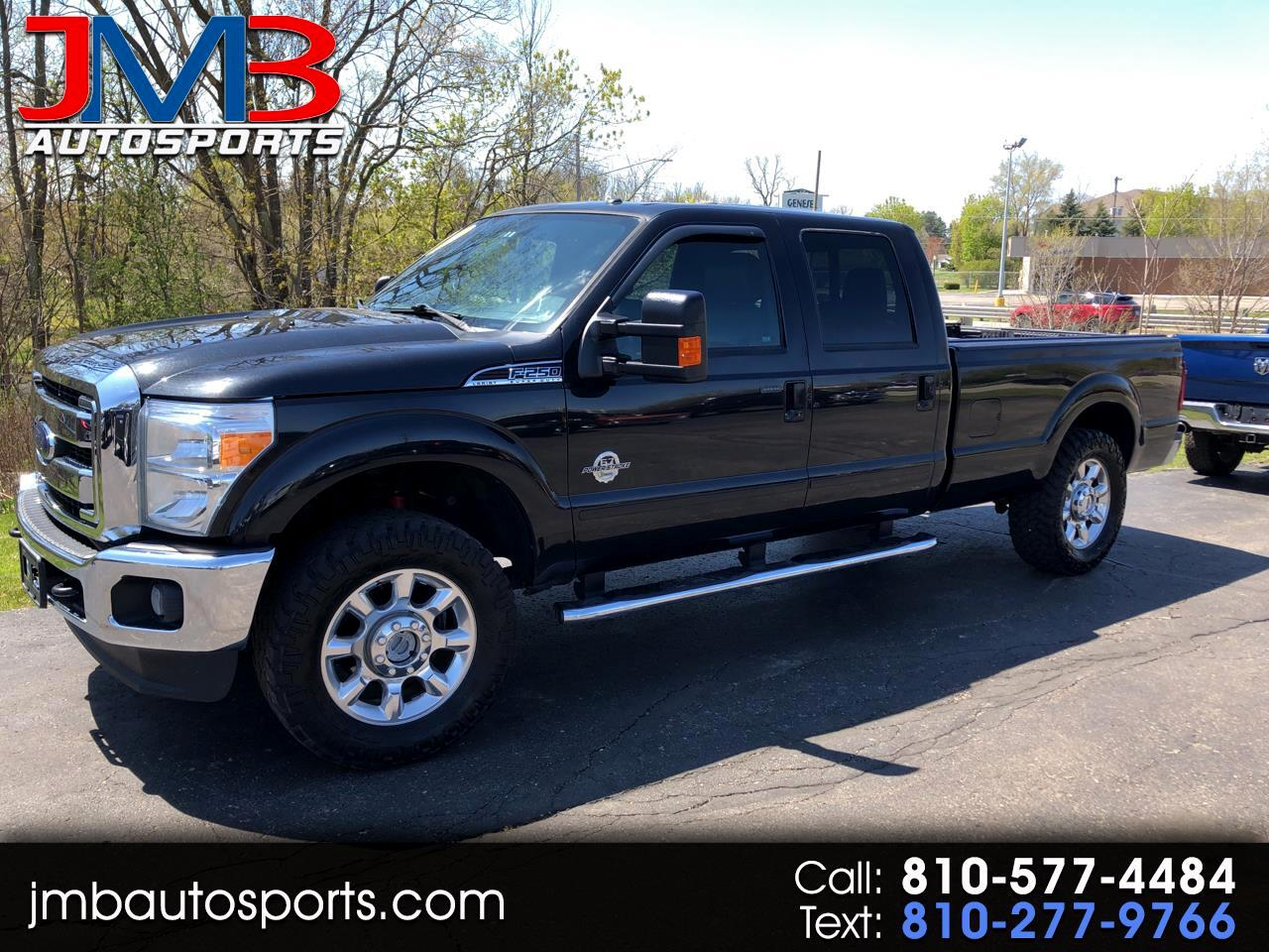 Ford F-250 SD Lariat Crew Cab Long Bed 4WD 2012