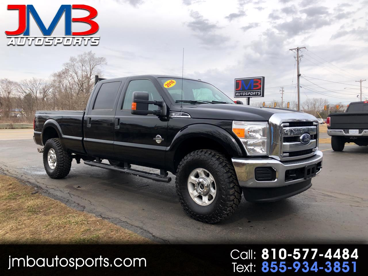 Ford F-350 SD XLT Crew Cab Long Bed 4WD 2016