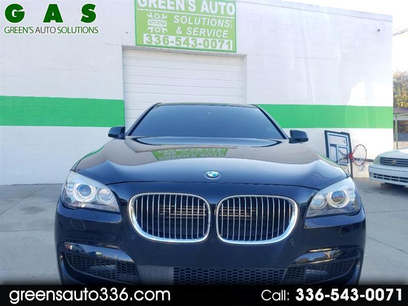 BMW 7-Series 750i 2012