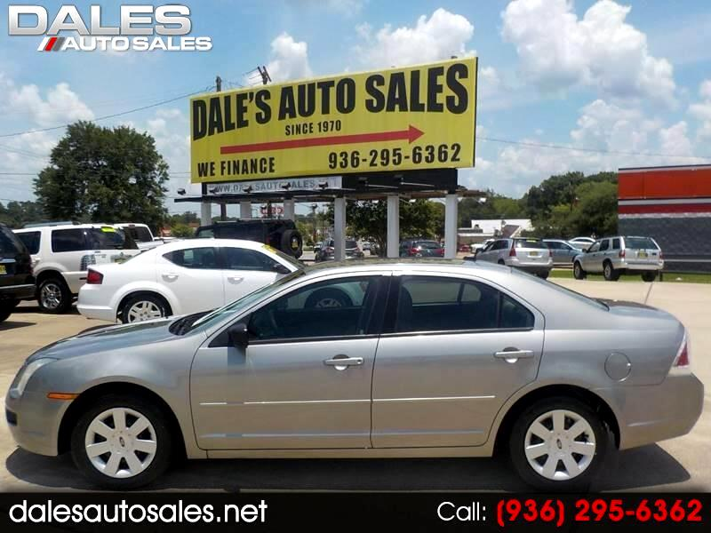 2008 Ford Fusion I-4 S