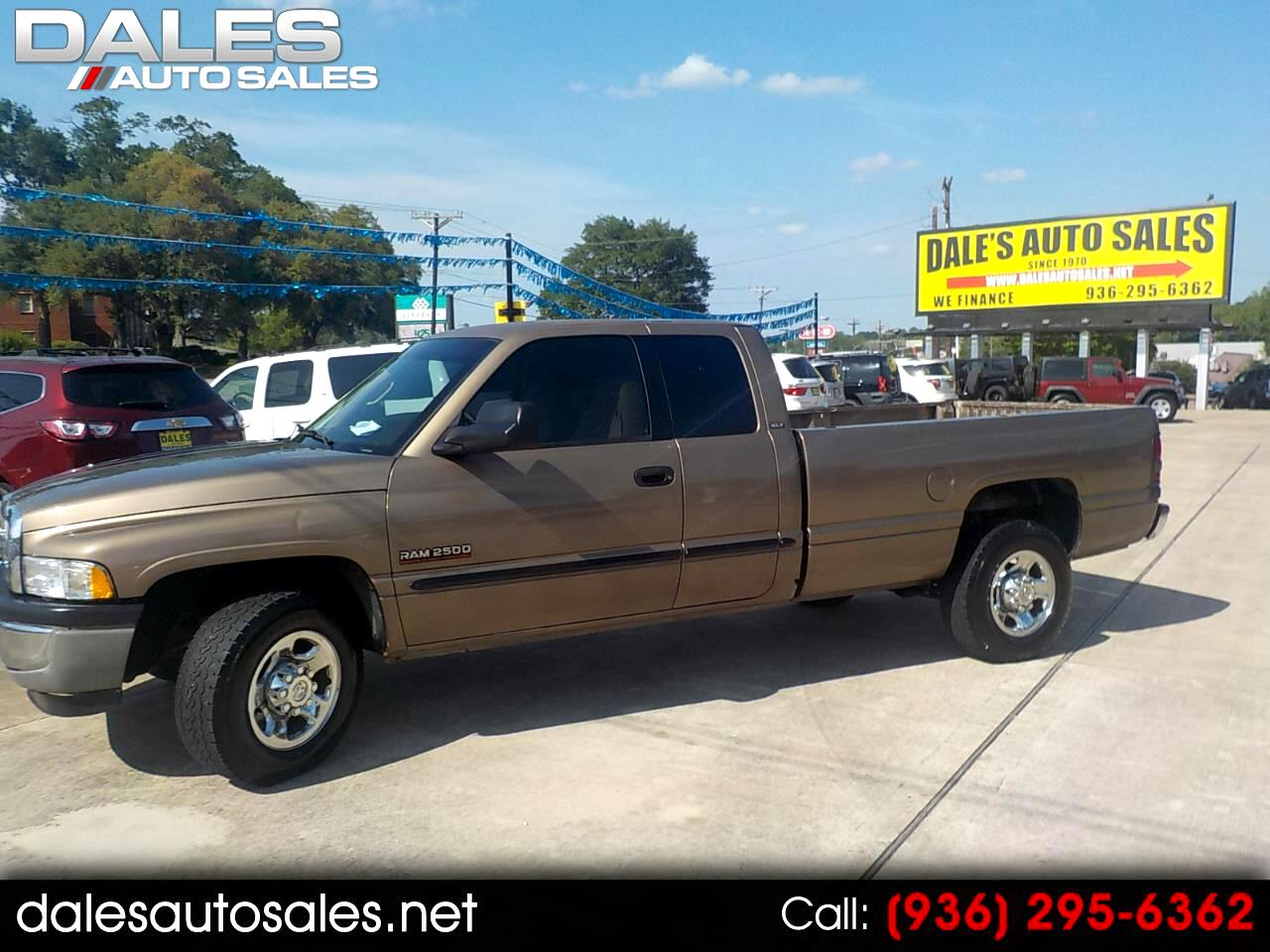 "Dodge Ram 2500 4dr Quad Cab 139"" WB HD 2001"