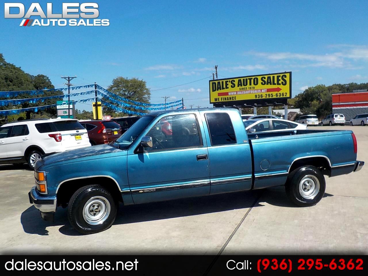 "Chevrolet 1500 Pickups Ext Cab 141.5"" 1991"