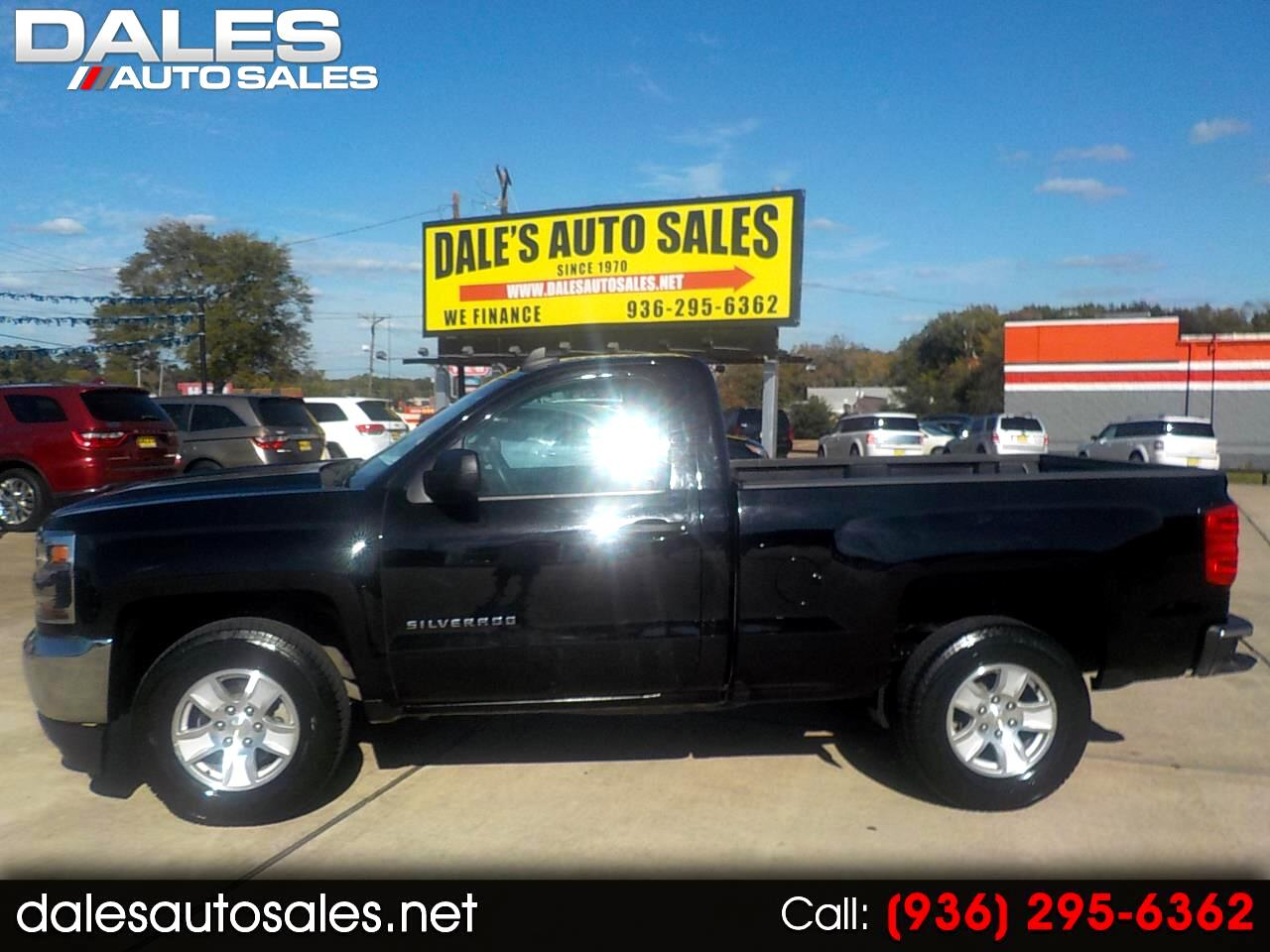 Used 2017 Chevrolet Silverado 1500 2wd Reg Cab 119 0 Ls For Sale In Huntsville Tx 77340 Dale S Auto Sales