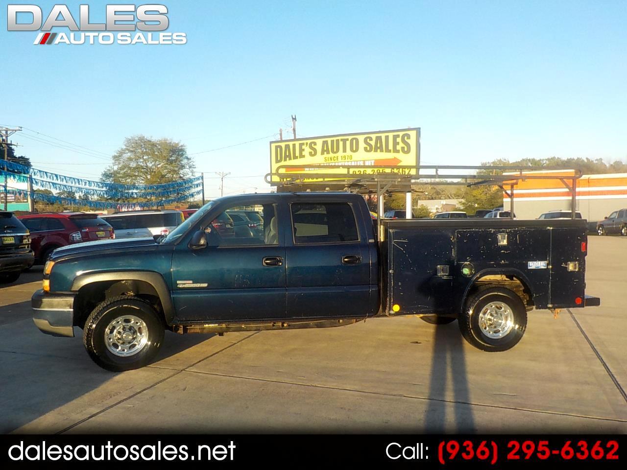 """Chevrolet Silverado 2500 Crew Cab 167.0"""" WB 2005"""