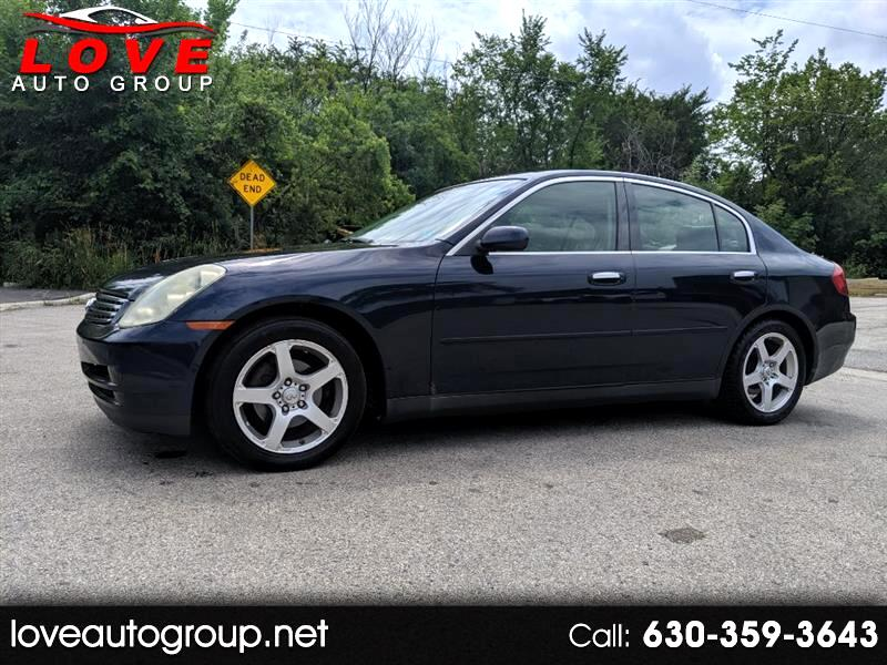 Buy Here Pay Here Chicago >> Buy Here Pay Here 2004 Infiniti G35 Sedan For Sale In