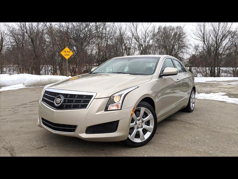 Cadillac ATS 2.0L AWD 2013