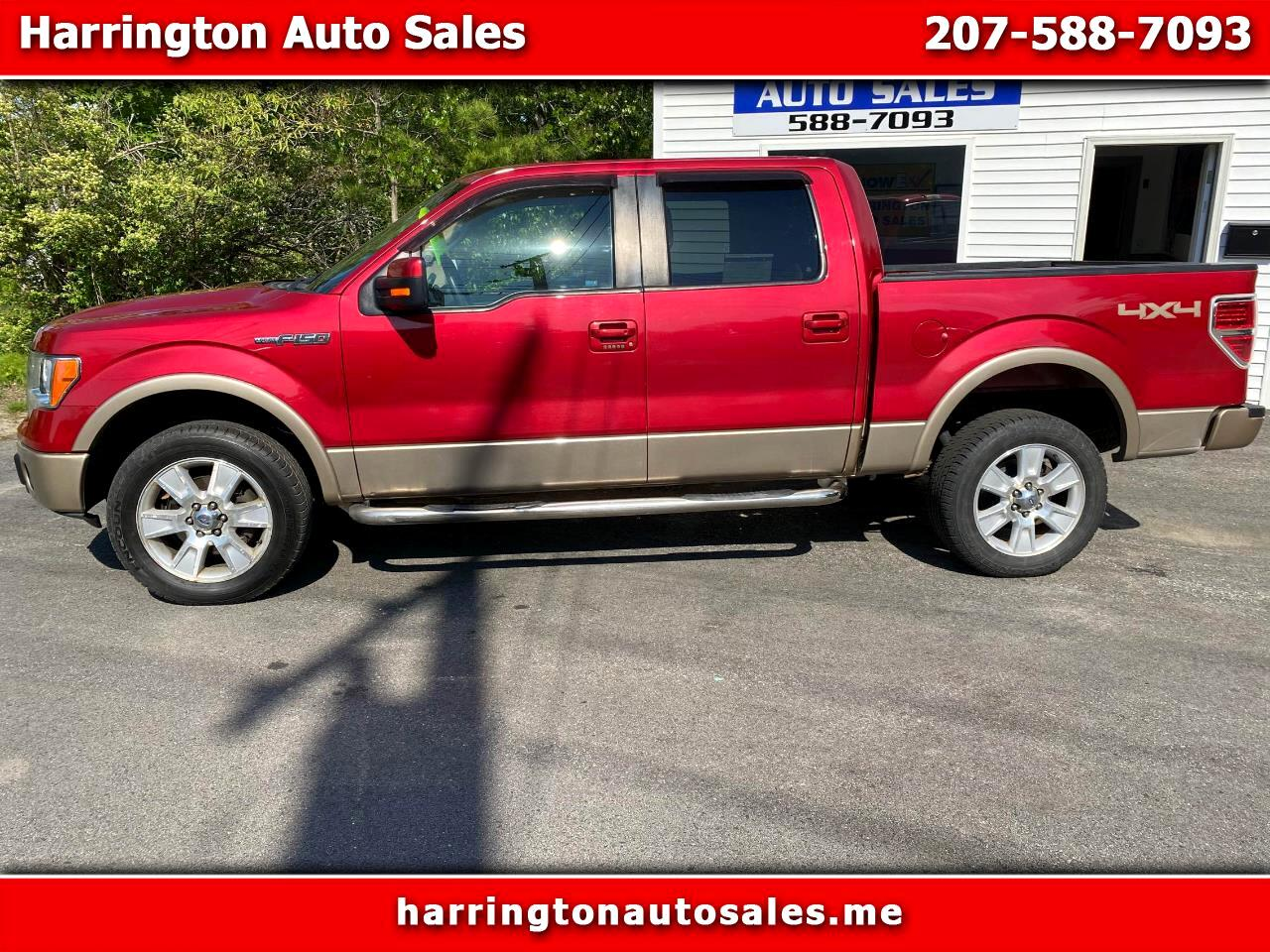 "Ford F-150 4WD SuperCab 133"" Lariat 2012"