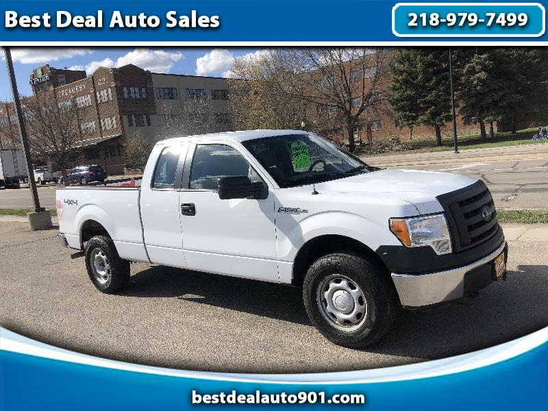 Ford F-150 XL SuperCab 6.5-ft. Bed 4WD 2012