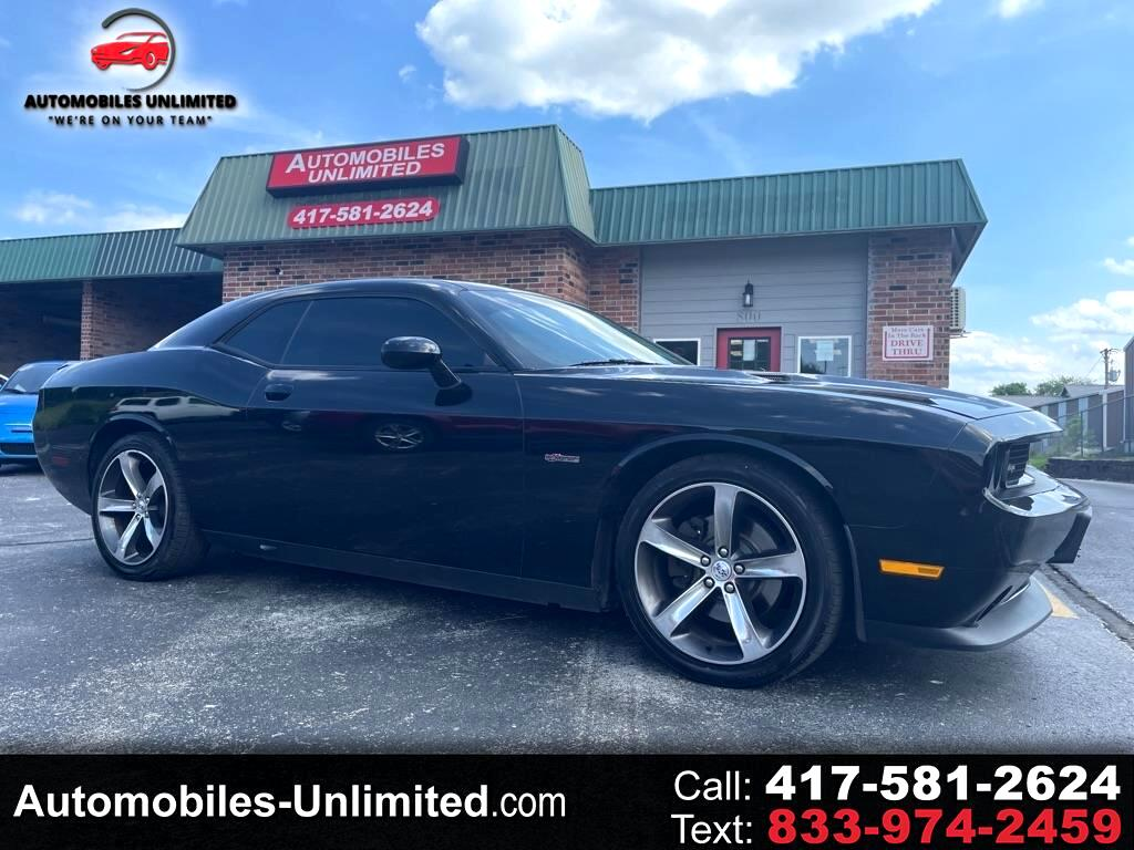 Dodge Challenger 2dr Cpe R/T 100th Anniversary Appearance Group 2014