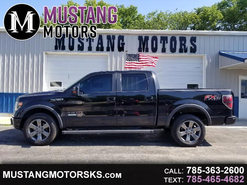 "Ford F-150 SuperCrew Flareside 150"" FX4 4WD 2013"