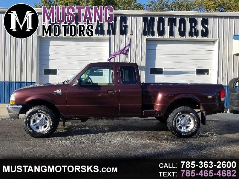 2000 Ford Ranger XLT SuperCab 2-Door 4WD