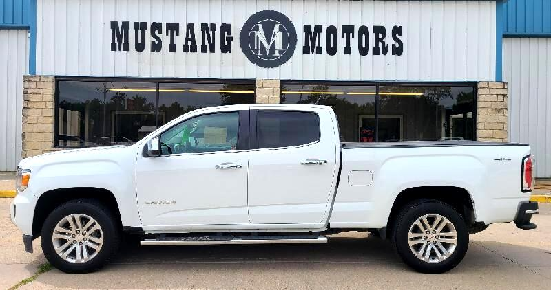 GMC Canyon SLT Crew Cab 4WD Long Box 2016