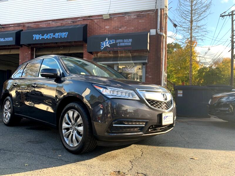 Acura MDX SH-AWD 9-Spd AT w/Tech and Entertainment Package 2016