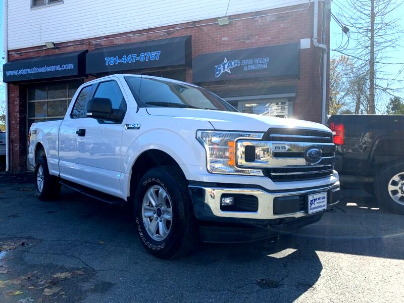 2018 Ford F-150 SuperCab Short Bed 4WD