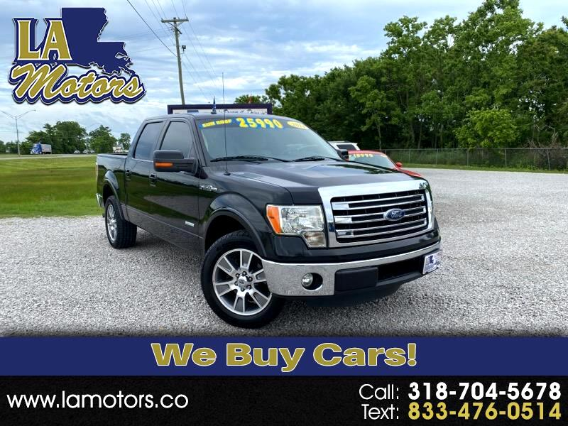 Ford F-150 Lariat SuperCrew 5.5-ft. Bed 2WD 2014