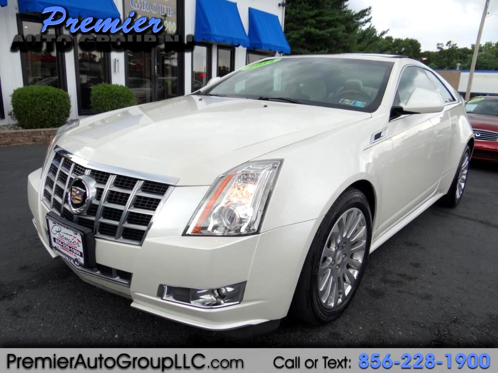 2014 Cadillac CTS Coupe 2dr Cpe Premium AWD