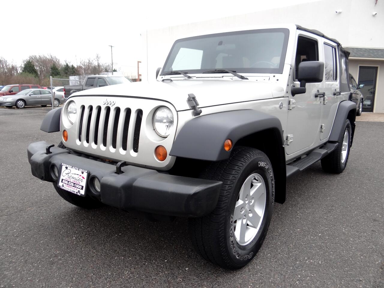 2007 Jeep Wrangler 4WD 4dr Unlimited X