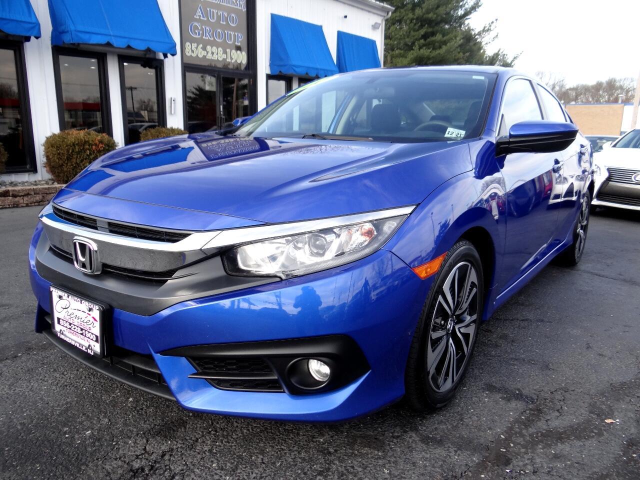2017 Honda Civic Sedan EX-T Manual