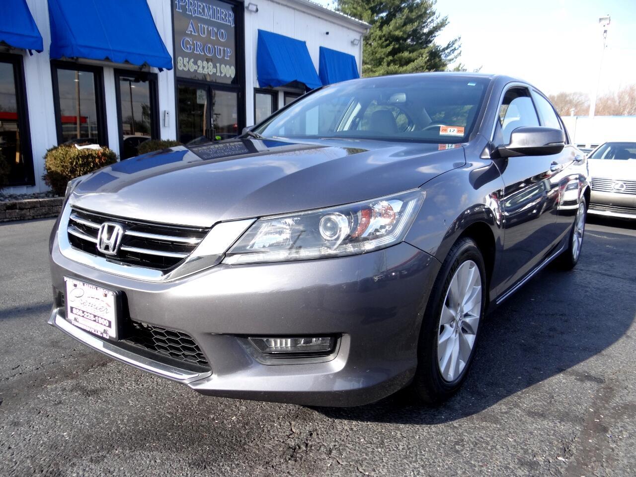2014 Honda Accord Sedan 4dr I4 CVT EX-L w/Navi & Honda Sensing