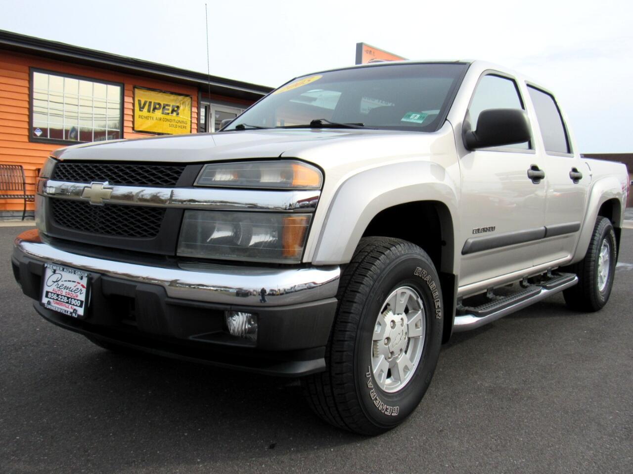 """2005 Chevrolet Colorado Crew Cab 126.0"""" WB 4WD 1SF LS Z71"""