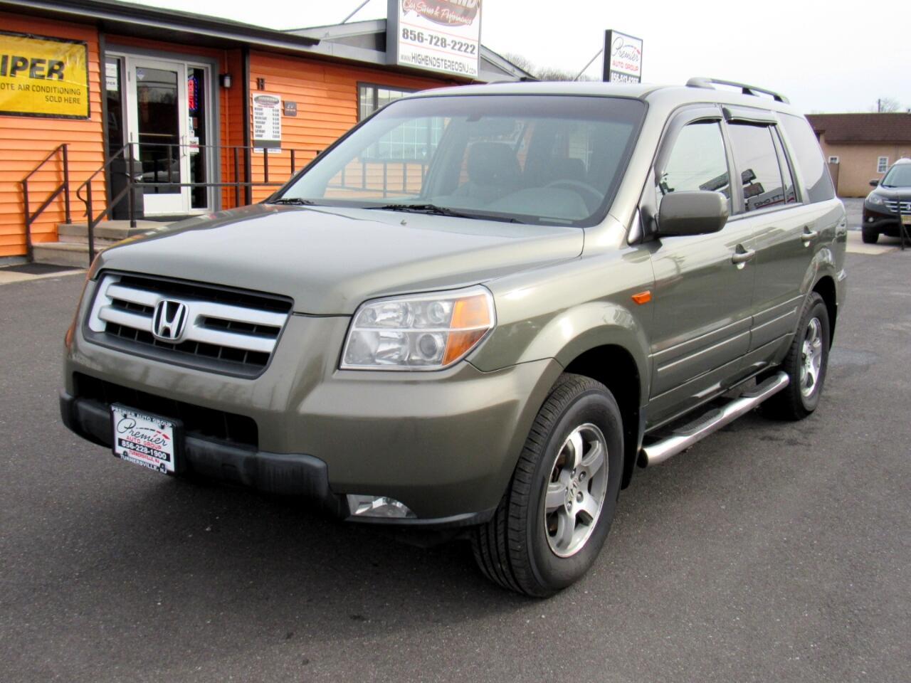 2008 Honda Pilot 4WD 4dr EX-L w/RES
