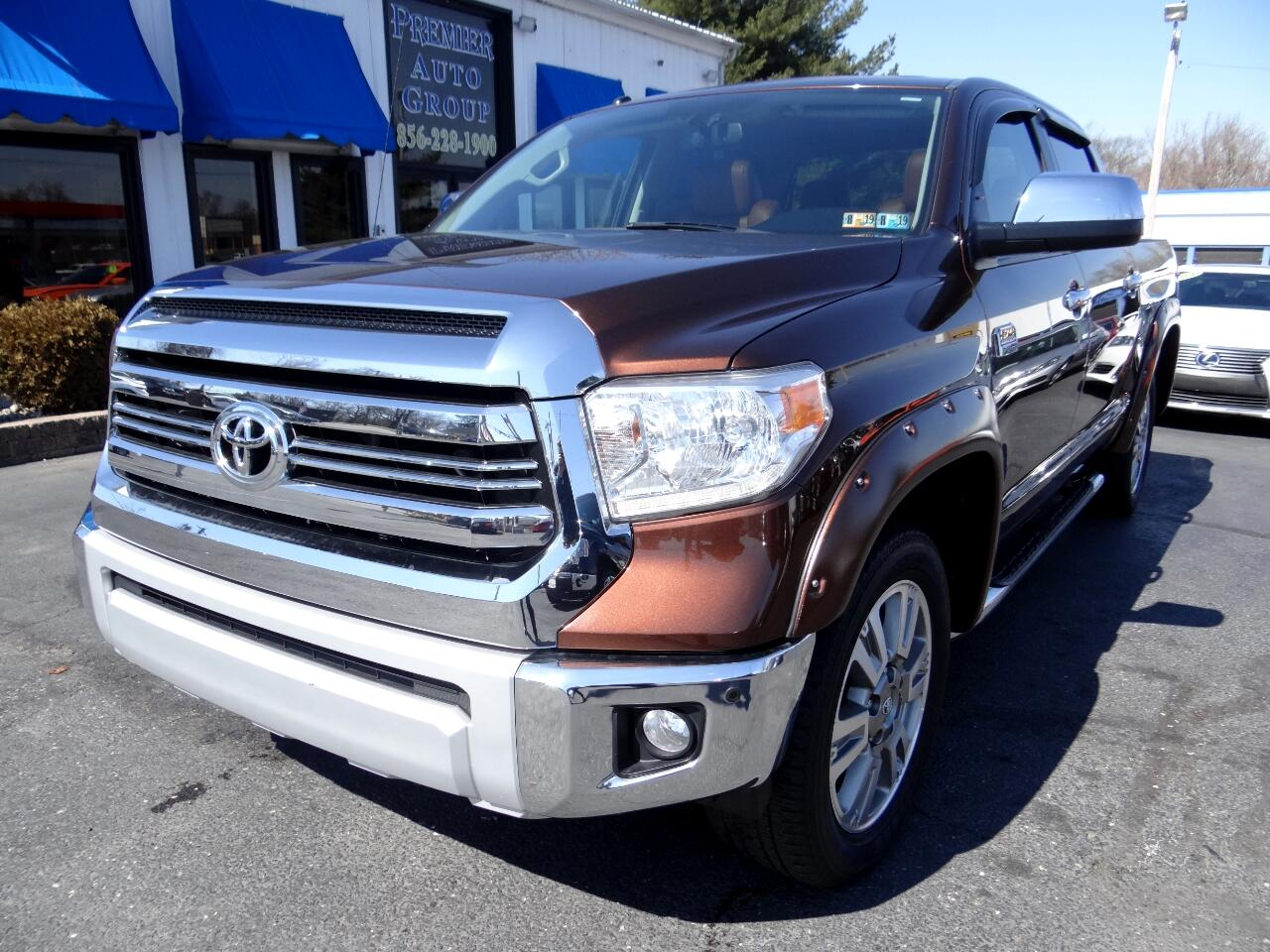 2015 Toyota Tundra 4WD Truck CrewMax 5.7L V8 6-Spd AT 1794 (Natl)