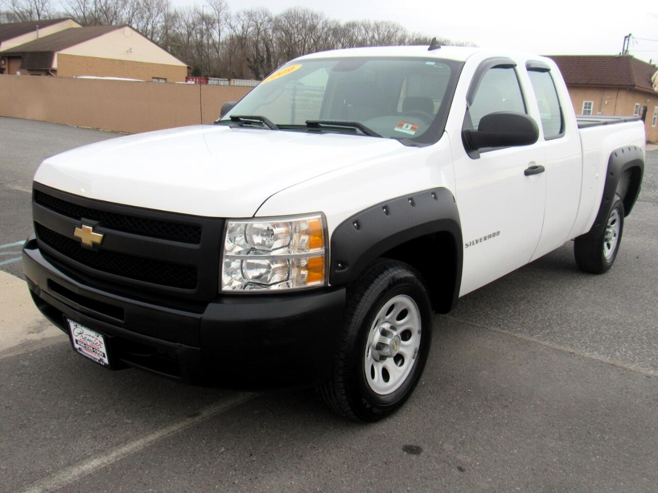 """2009 Chevrolet Silverado 1500 2WD Ext Cab 143.5"""" Work Truck"""