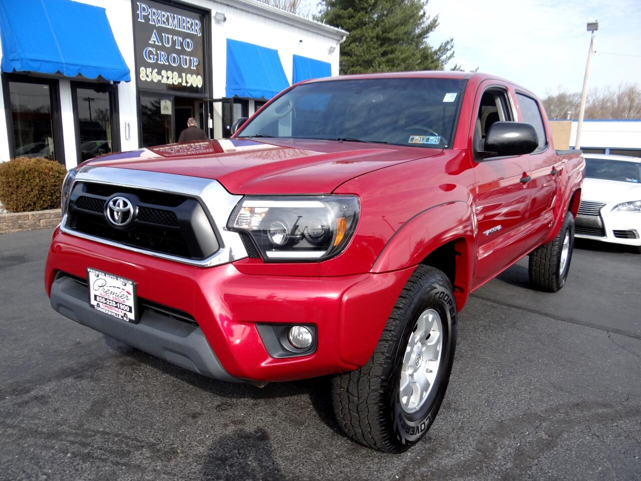 2012 Toyota Tacoma 4WD Double Cab V6 AT (Natl)