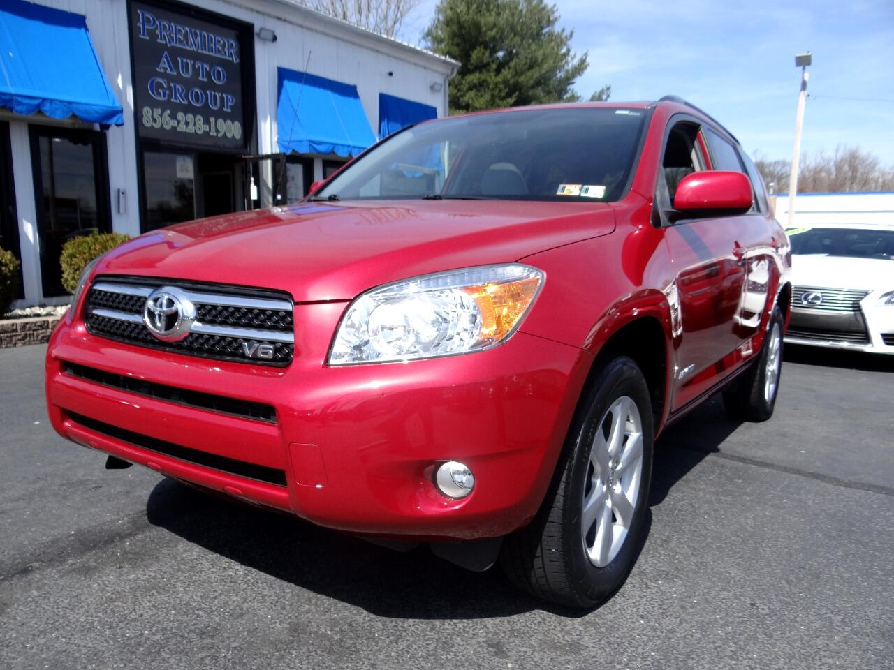 Toyota RAV4 4WD 4dr V6 5-Spd AT Ltd (Natl) 2008