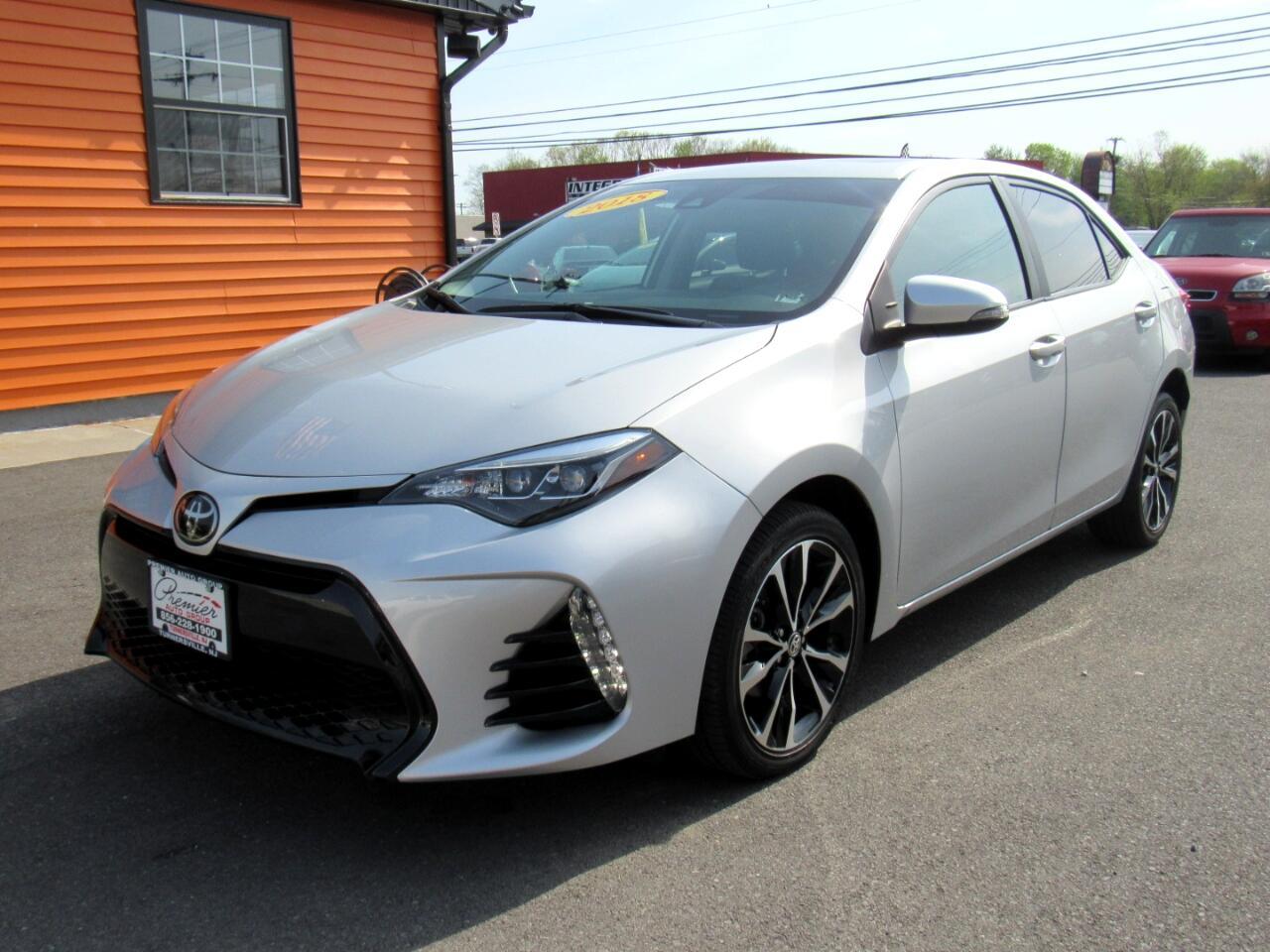 Car Loan Calculator Kbb >> Used 2018 Toyota Corolla SE CVT for Sale in Turnersville NJ 08012 Premier Auto Group