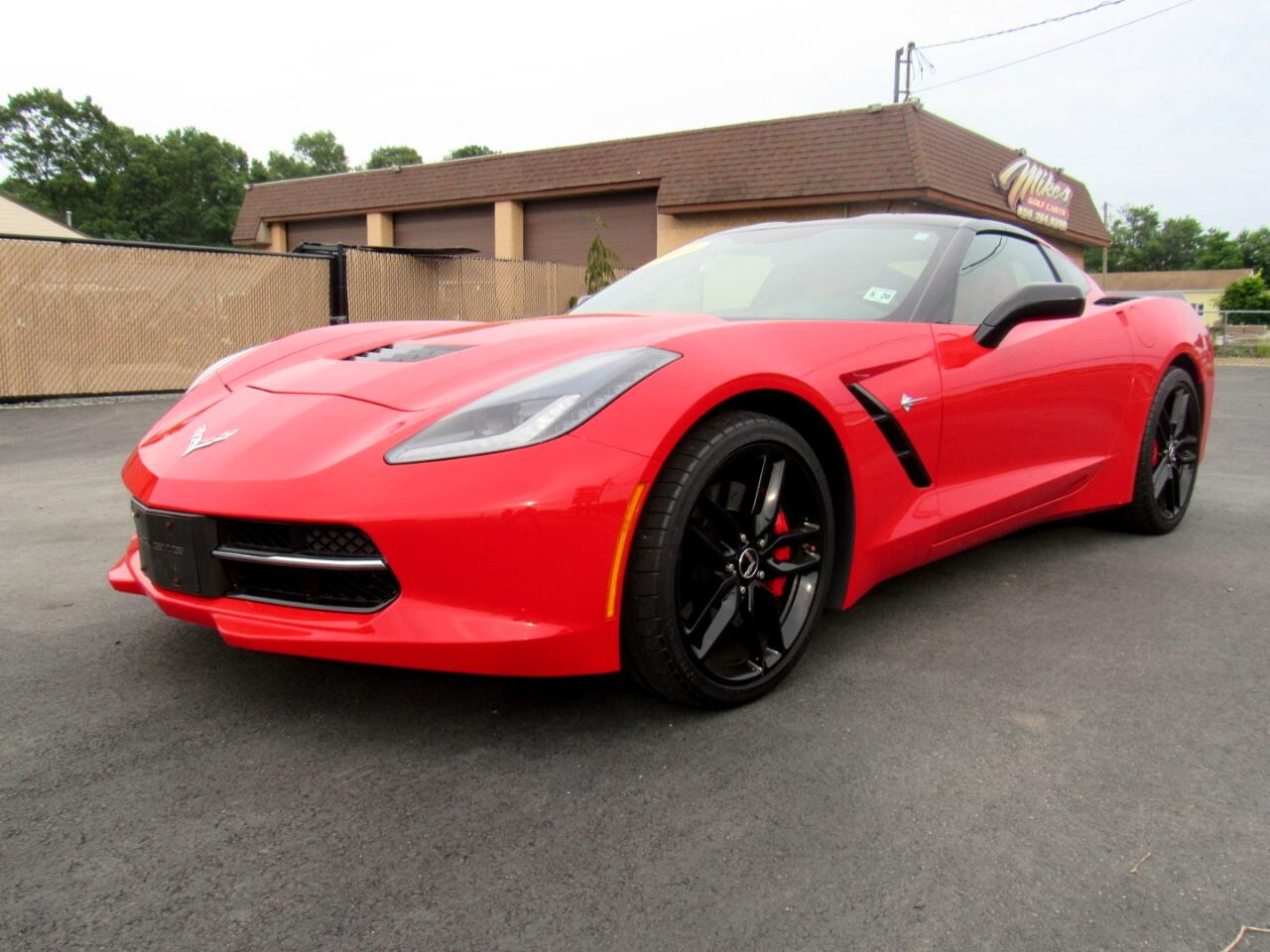 2015 Chevrolet Corvette 2dr Stingray Z51 Cpe w/2LT